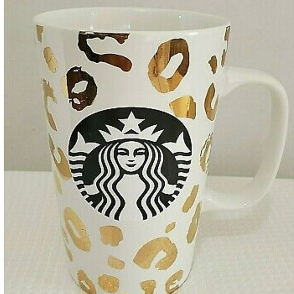 Cheetah Print Starbucks Mug